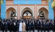 Photo des participants de la conférence des Amis du peuple syrien, le 12 décembre 2012 à Marrakech.