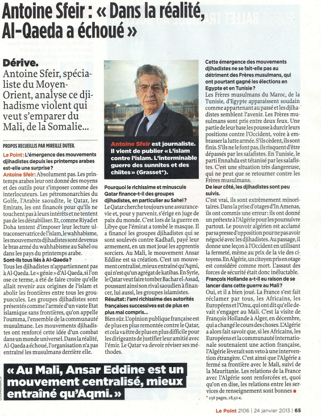 Le_Point 24 janvier 2013