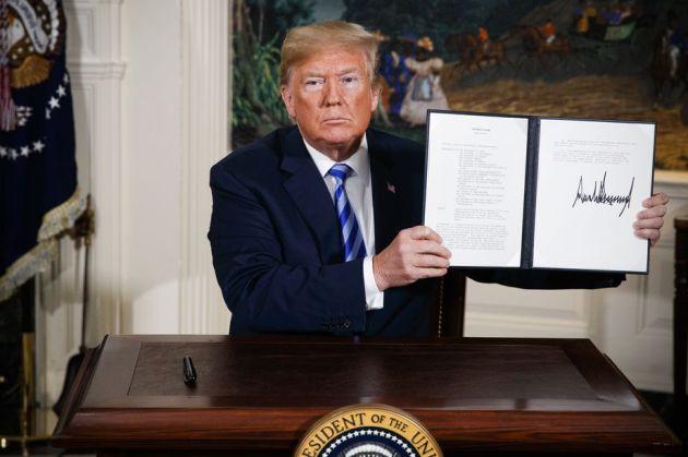 Trump Iran Evan Vucci:AP